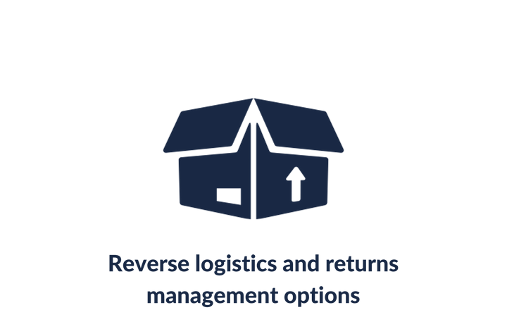 Reverse logistics and returns management options