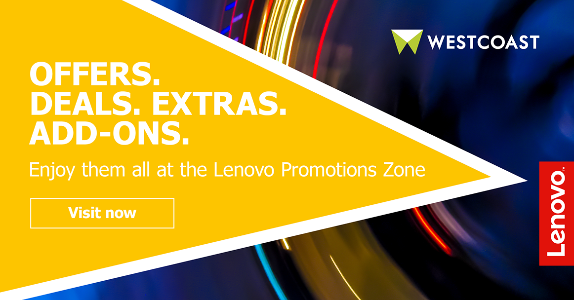 Offers. Deals. Extras. Add ons. Lenovo Promotion Zone