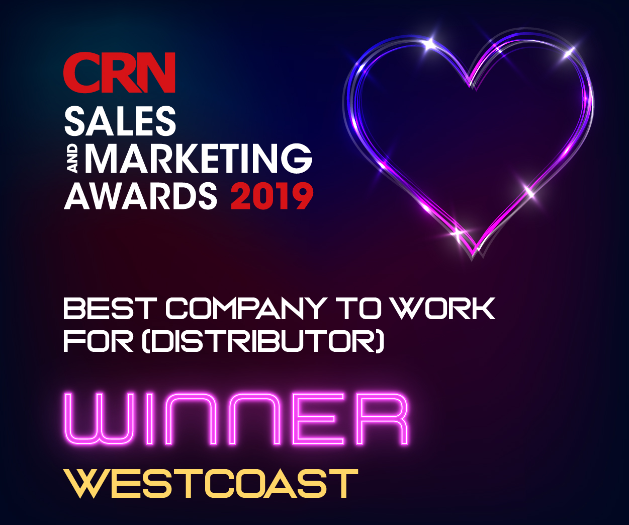 CRN Winners - Best Company to Work For 2019